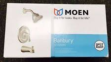moen banbury spot resist brushed nickel diverter tub spout kit