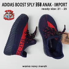 Jual Adidas Anak jual adidas yeezy boost sply 350 anak navy merah adidas anak