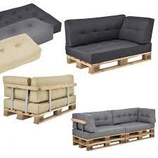 canapé en palette avec dossier en casa coussin d assise de dossier d angle avec palette ou