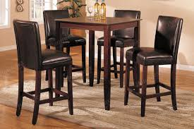 stunning design pub dining table and chairs siganature by ashley
