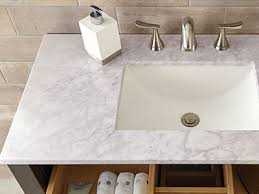 How To Install A Bathroom Vanity - Bathroom vanity top glue