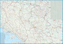 Bosnia Map Maps For Travel City Maps Road Maps Guides Globes Topographic