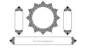 vector ornamental frames vol 1 vectorylab free vector