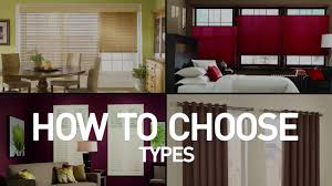 types of window coverings how to choose the perfect window