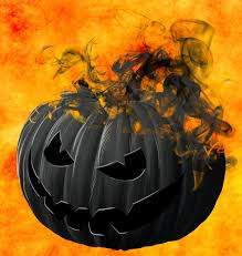evil black smoking pumpkin blissplan com