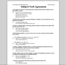 subject verb agreement pearltrees