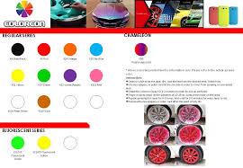 clear stock colorcon plasti dip car rim silicon rubber spray