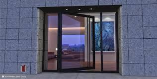 modern glass house modern steel doors custom pivot doors glass doors metal doors