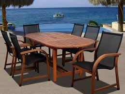 Woodbury 7 Piece Patio Dining Set - patio 37 magnificent patio dining sets on sale popular for