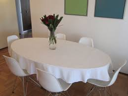 54 x 120 oval polyester table linen premier table linens