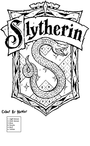 get this harry potter coloring pages slytherin 26741