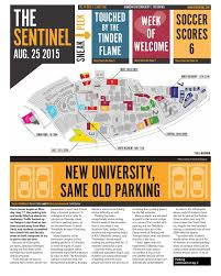Kennesaw State University Campus Map by August 25 2015 Ksu Sentinel By Kennesaw State Issuu