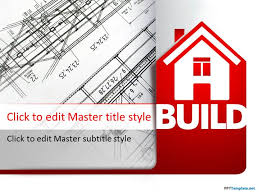 free house building ppt template