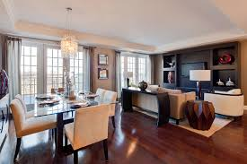 dining room and living room combined elegant kitchen and dining