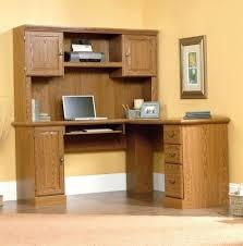 multi tiered computer desk desk sauder august hill l shaped desk dover oak finish sauder
