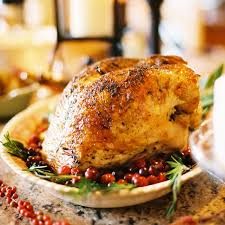 cranberry baked turkey simple thanksgiving dinner weight tip