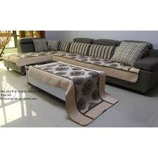 Brown Sofa Throw Ofit High Quality Chenille Quilted Sectional Sofa Throw Pads