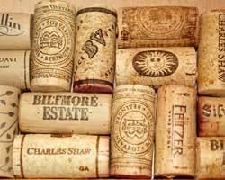 wine corks cork board
