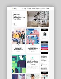 blogs design best wordpress magazine themes for blog and news websites