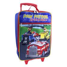 patrol wheeled luggage case kids