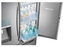 Samsung French Door Refrigerator Cu Ft - samsung 30 cu ft capacity 4 door french door food showcase