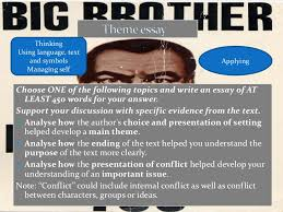 theme essay for 1984 1984