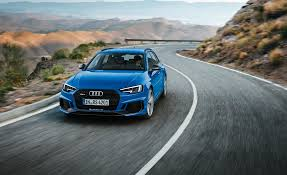 audi rs wagon 2018 audi rs4 avant photos and info news car and driver