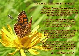 an like the butterfly spiritual poetry
