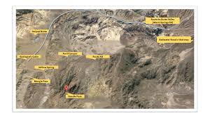 Map Of Death Valley The Hunt For The Death Valley Germans U2014 Companion Reading