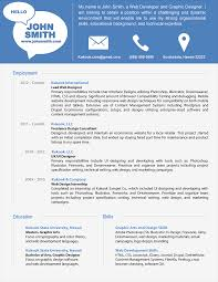 Microsoft Word Resume Template Free Download Modern Resume Templates Zuffli