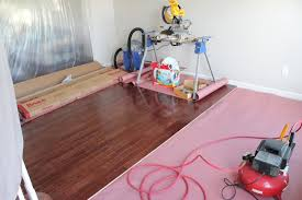 Install Hardwood Flooring - how to install hardwood floors home improvement projects tips