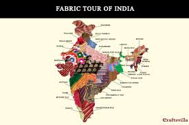 fabric tour of india unique indian handlooms from all 29 states