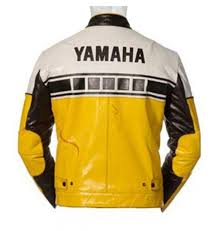 riding jackets vintage yellow motorcycle riding jacket