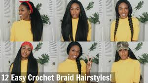 how to style xpressions hair 12 super easy straight crochet hairstyles outre x pression