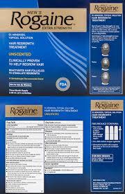 rogaine regaine men 5 minoxidil 3 month supply biovea