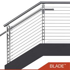 cable railing balustrade stainless steel modular railings viva