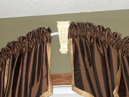 Arch Window Curtain Arched Window Curtain Rod Ideas Cabinet Hardware Room