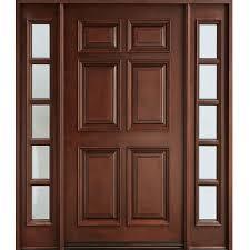 Wooden Doors Design Rustic Solid Wood Door Hpd103 Solid Wood Doors Al Habib Panel