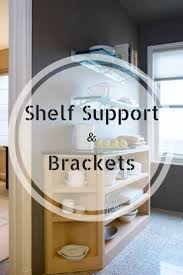 Wood Shelf Support Design by 57 Best Shelf Supports U0026 Brackets Images On Pinterest Shelf