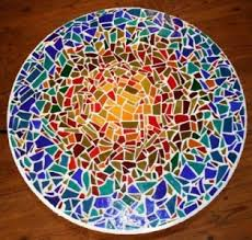how to make a mosaic table top tabletop mosaics pinterest leftover tile mosaics and tabletop