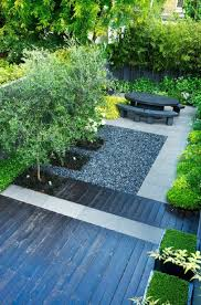landscape ideas for small backyard with wooden floors stone steps