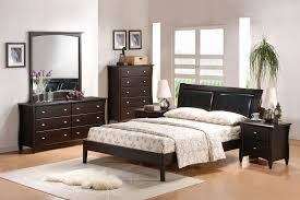apollo contemporary solid wood bedroom set in full queen or king