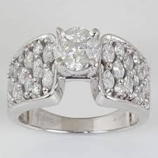 rings solitaire designs images Designer diamond solitaire rings 14k white gold marquise cut jpg