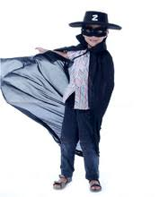 Dress Zorro Costume Halloween Cosplay Guides Cheap Zorro Costume Kids Aliexpress Alibaba Group