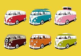 volkswagen van art vw camper free vector art 593 free downloads