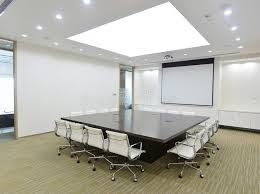 Big Meeting Table Big Meeting Room Stock Images Image 25986684