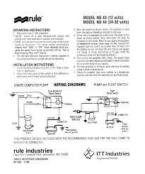 rule bilge pump wiring diagram gooddy org