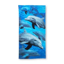 Dolphin Rugs Photorealistic Beach Towel Dolphins Home Bed U0026 Bath Bath