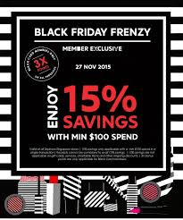 sephora sale black friday sephora black friday 15 off with min 100 spend 27 nov 2015