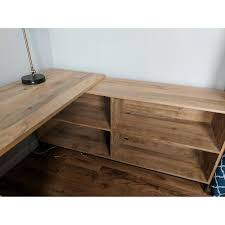 west elm industrial storage modular desk aptdeco house design